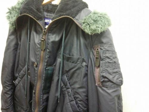 ジャケットの秋物衣類