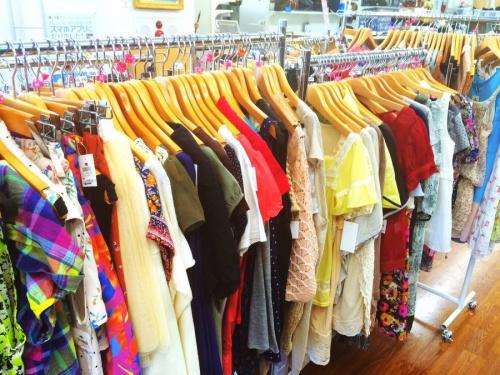 レディースファッションの夏物衣類
