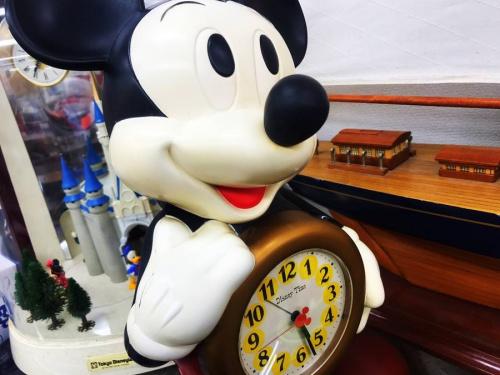 置時計のDisney