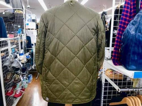 キルティングのジャケット