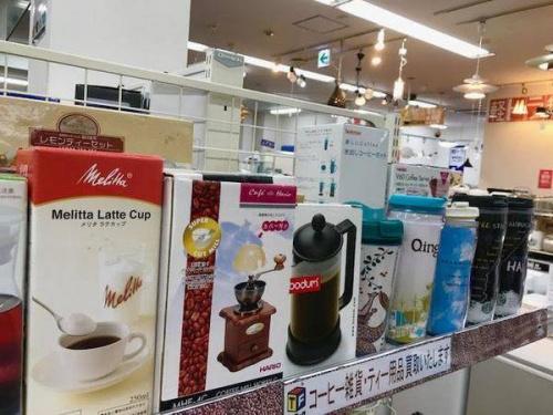 コーヒーメーカーのマグカップ