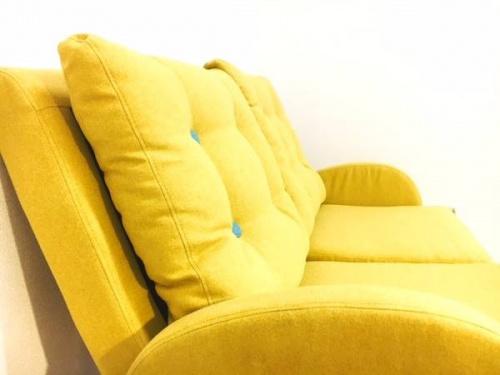 ラパンの二人掛けソファー