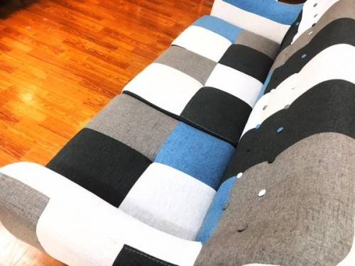 二人掛けソファーの三人掛けソファー
