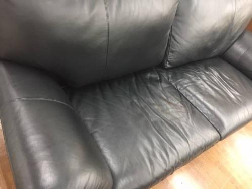 家具・インテリアの三人掛けソファー
