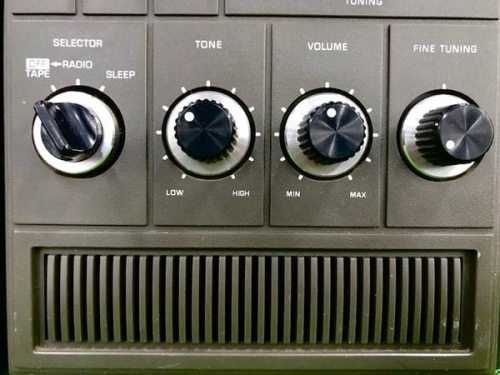 ラジオのラジカセ