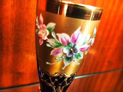 MURANO GLASSのペアセット