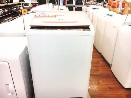 洗濯機の日立
