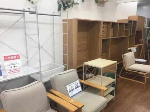 オーク材の中古家具