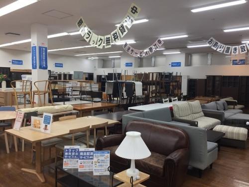 未使用品の浦和3店舗中古家具情報