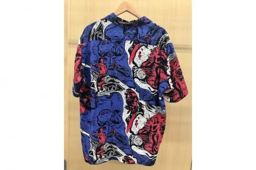 アロハシャツのオープンカラー