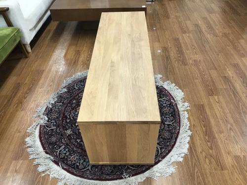 テーブルベンチの無印良品