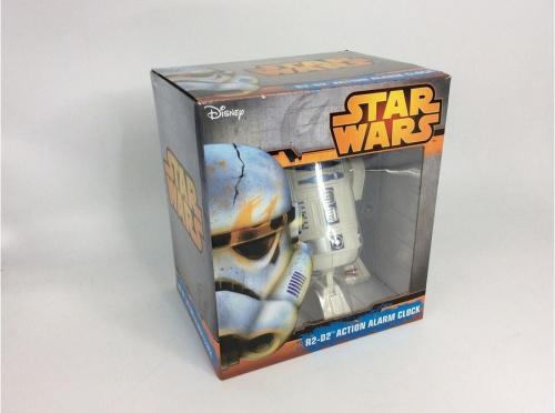 おもちゃのクオーツ音声目覚し時計 8ZDA21BZ03 R2-D2 未使用品