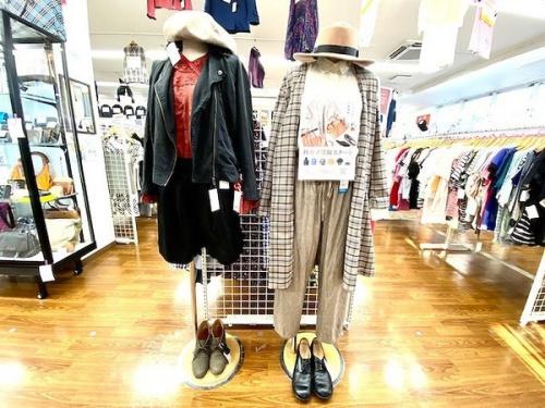 レディースファッションの秋物買取