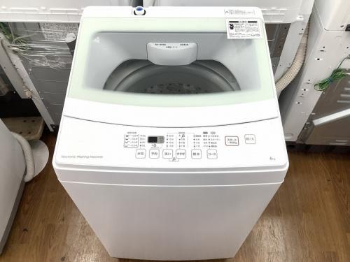 生活家電の全自動洗濯機
