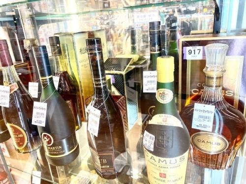 ウイスキー・ブランデー・焼酎の買取強化