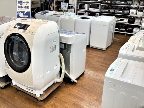 洗濯機のドラム式 縦型