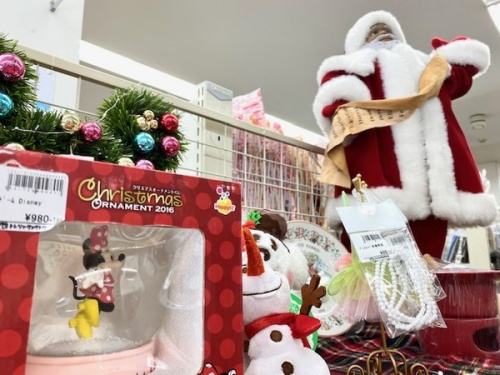 雑貨のクリスマス