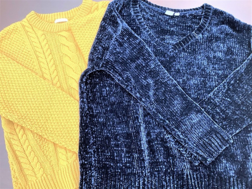 衣類 中古 USEDのダウン パーカー ニット シャツ