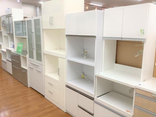 食器棚 カップボードのレンジボード キッチン台