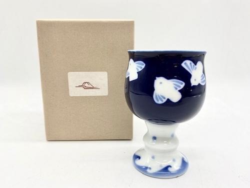 深川製磁のワインカップ