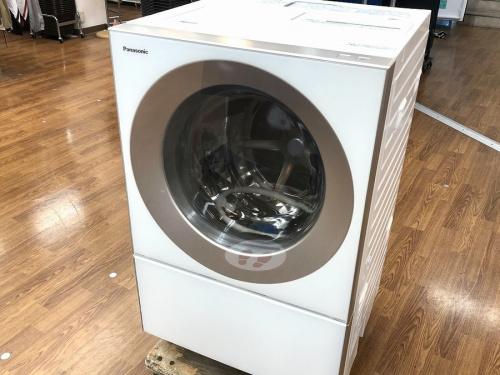 生活家電のドラム式洗濯機