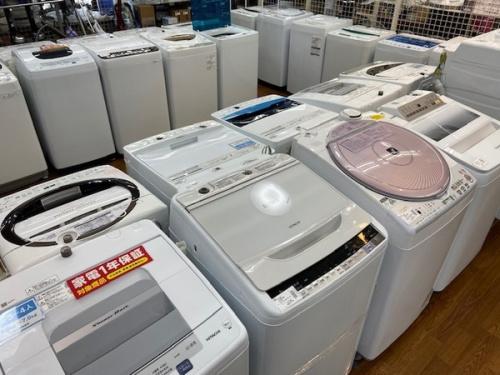 洗濯機の冷蔵庫・電子レンジ