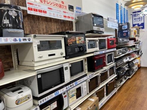 冷蔵庫・電子レンジの中古家電 埼玉