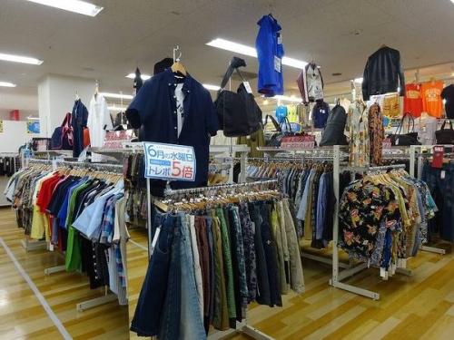 関西の岸和田 衣類