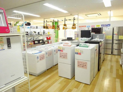 関西の岸和田 家電