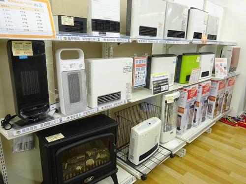 岸和田 家電のガスファンヒーター