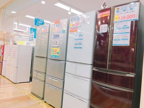 生活家電の冷蔵庫・洗濯機
