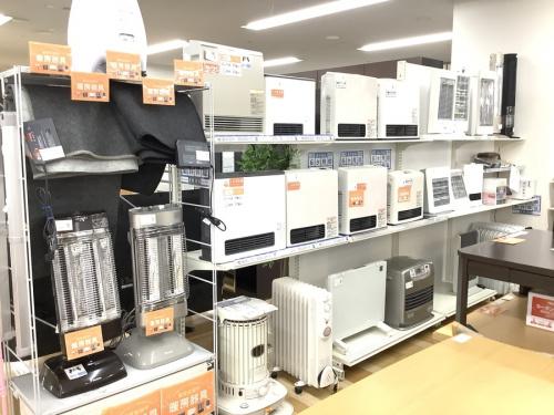 中古家電 大阪のファンヒーター 大阪