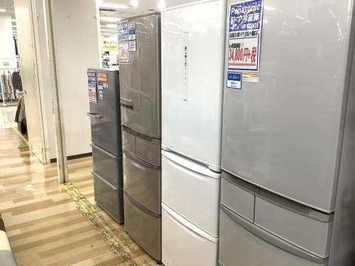Panasonic パナソニックの冷蔵庫 中古