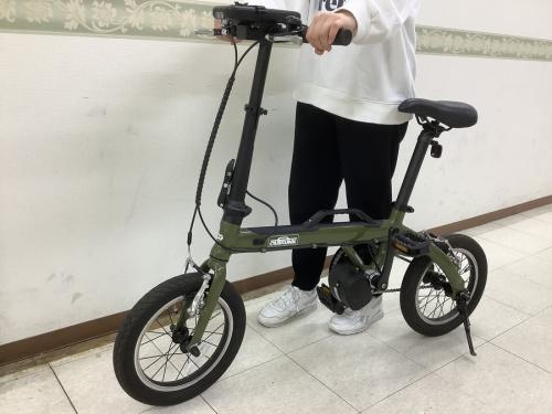 自転車 買取の折りたたみ自転車