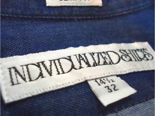 INDIVIDUALIZED SHIRTSのデニムシャツ