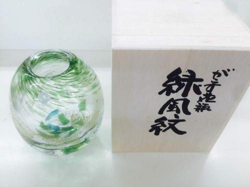花瓶の小樽ガラス