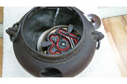 電気釜の茶釜