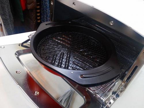 グラファイトグリルのオーブントースター