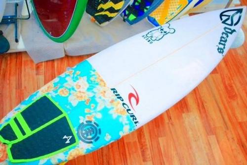 サーフボードの夏