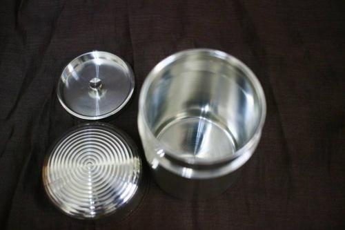 錫製茶壷の茶筒