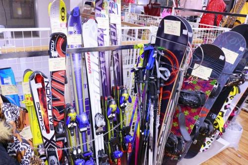 スキーのアウトドア