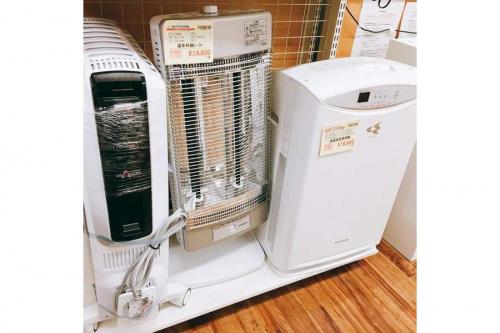冬物家電のヒーター