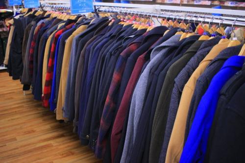 ジャケットの買取強化