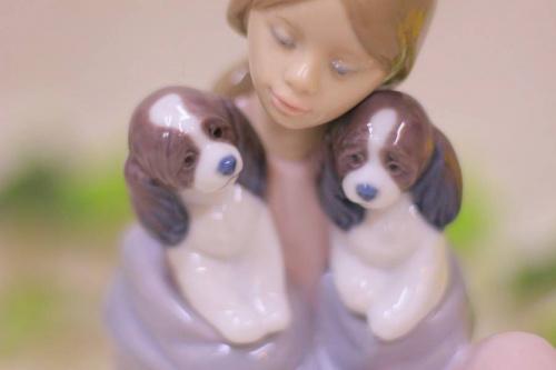 陶器人形のLLADRO