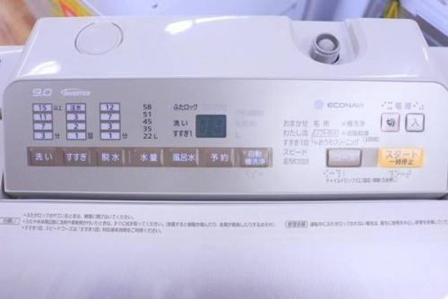 全自動洗濯機のPanasonic