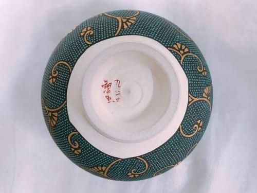 九谷焼の茶碗