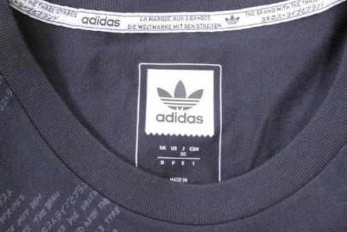 Tシャツのアディダス(adidas)