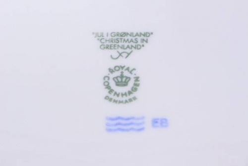 Royal Copenhagenのイヤープレート