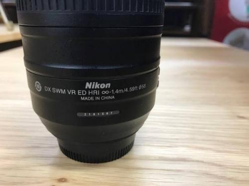 レンズの55-300mm