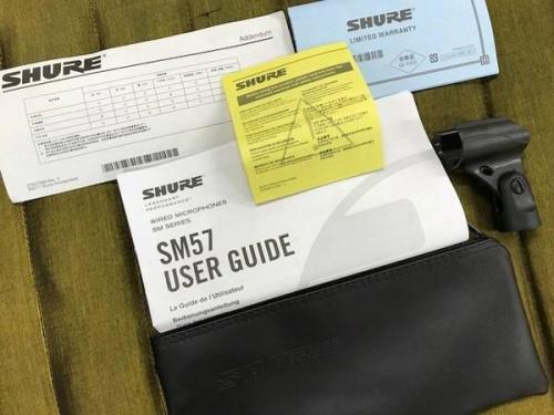 SM57のケース・スタンド付